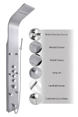 AKDY JX-9821 AZ-9821 Shower System Shower Panel