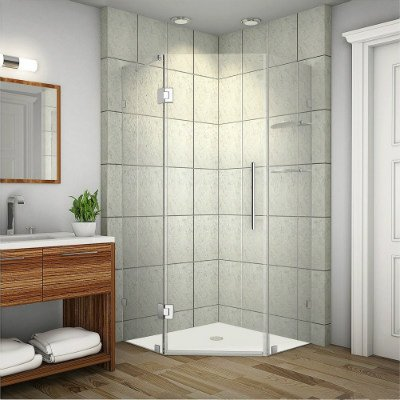 Aston SEN991-SS-34-10 Neoscape Completely Frameless Neo-Angle Shower Enclosure Review