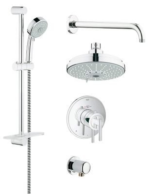 Grohflex Shower Set Timeless Dual