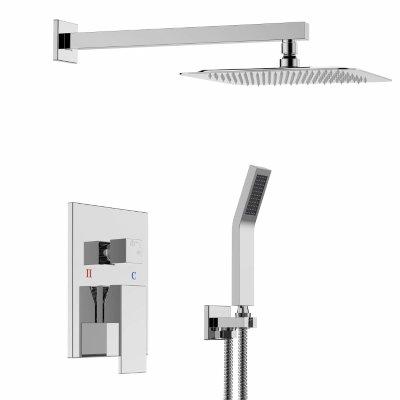 SR SUN RISE SRSH-F5043 Bathroom Shower Combo Set