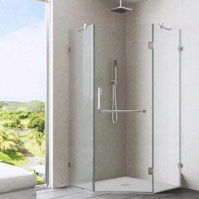 VIGO Piedmont Frameless Neo-Angle Shower Enclosure Review