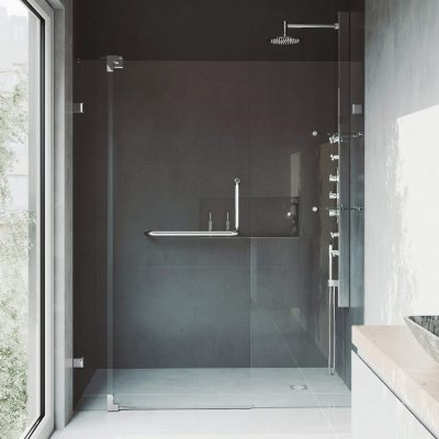 VIGO Pirouette Shower Door