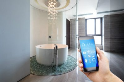 digital shower control