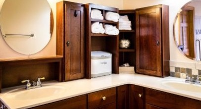 Creative Ideas To Save You Space in The Bathroom